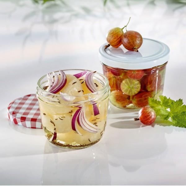 Sturzglas 230 ml mit Schraubverschluss