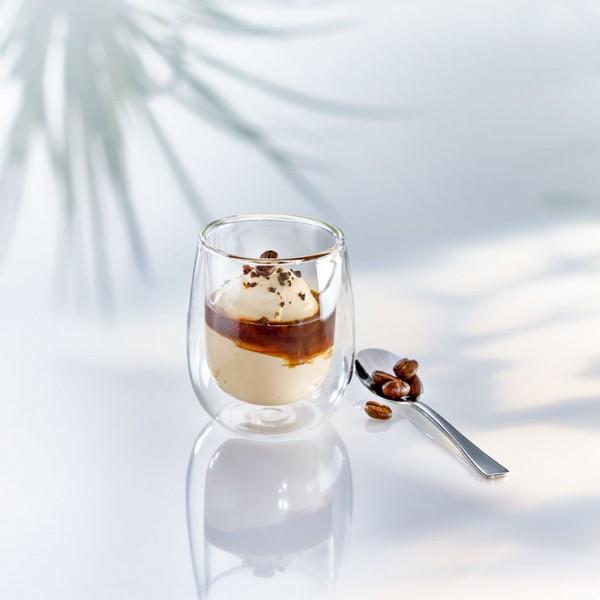 Espresso Becher doppelwandig 80ml (Ø 6,2 x 7 cm) - 2er Set