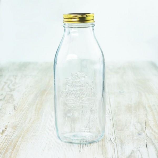 Quattro Stagioni Flasche 1 Liter Flaschen Einmachgläser