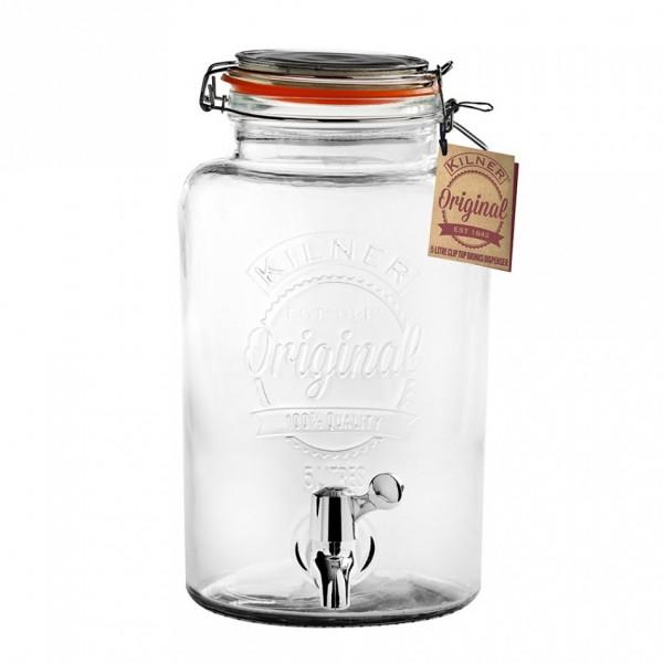 Kilner Getränkespender Aus Glas 5 Liter Geschenkideen Einkochzeit