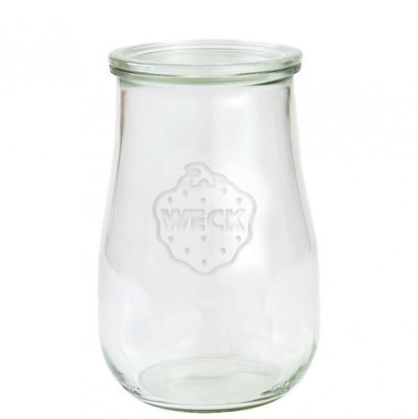 Weck Glas Tulpenform Mit Glasdeckel 15 L 1750ml Weck Gläser