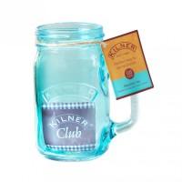 Kilner Trinkglas mit Griff 0,4 Liter blau href=