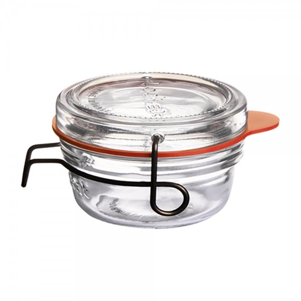 Lock-Eat Einmachglas mit Deckel 8cl