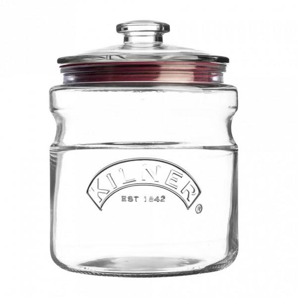 Kilner Vorratsgläser mit Deckel 2 Liter